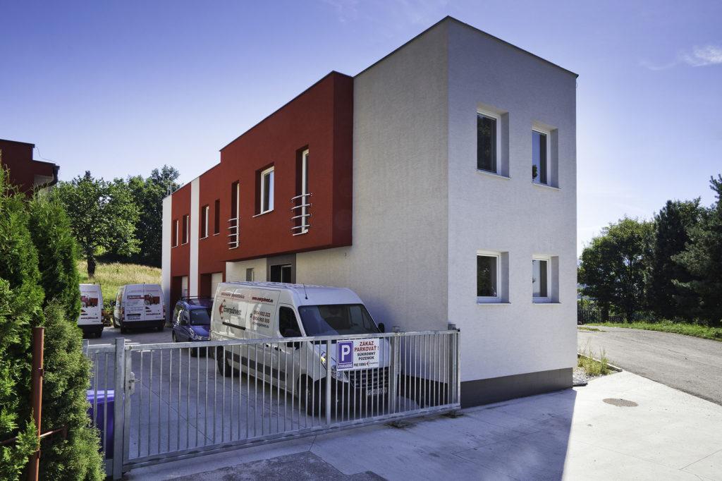 Prevádzka Energoinvest Prievidza - exteriér
