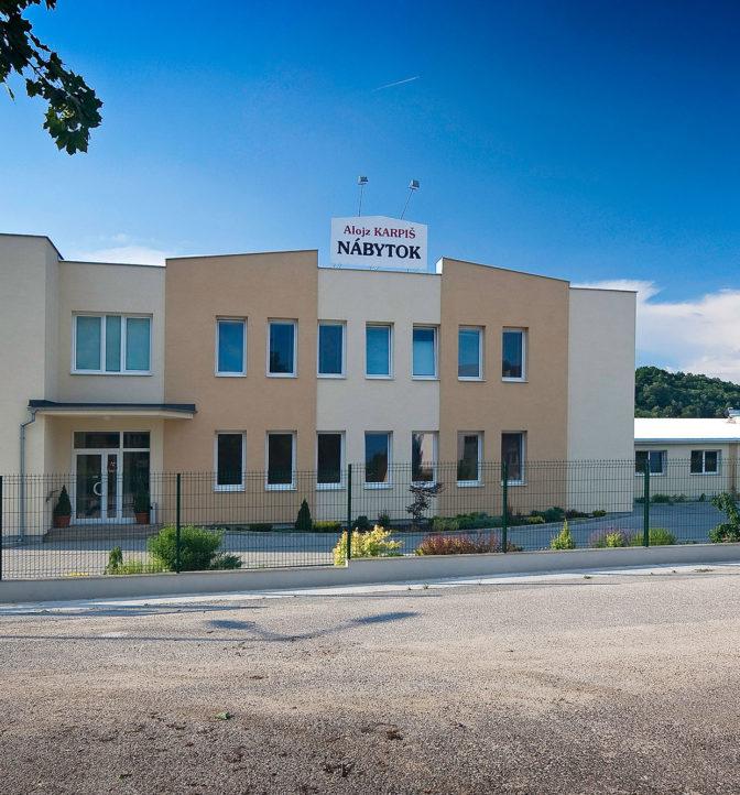 Priemyselná hala a administratívna budova, Prievidza