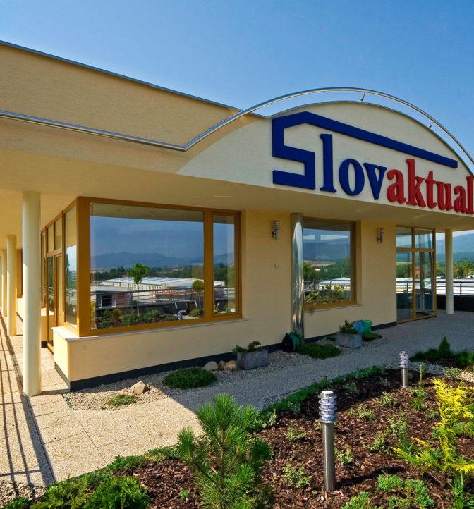 Rekonštrukcia a nadstavba administratívnej budovy Slovaktual, Pravenec